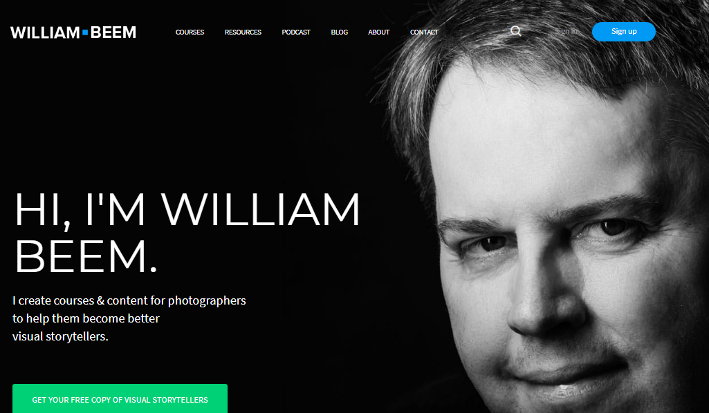 William beem: Photography blog and website