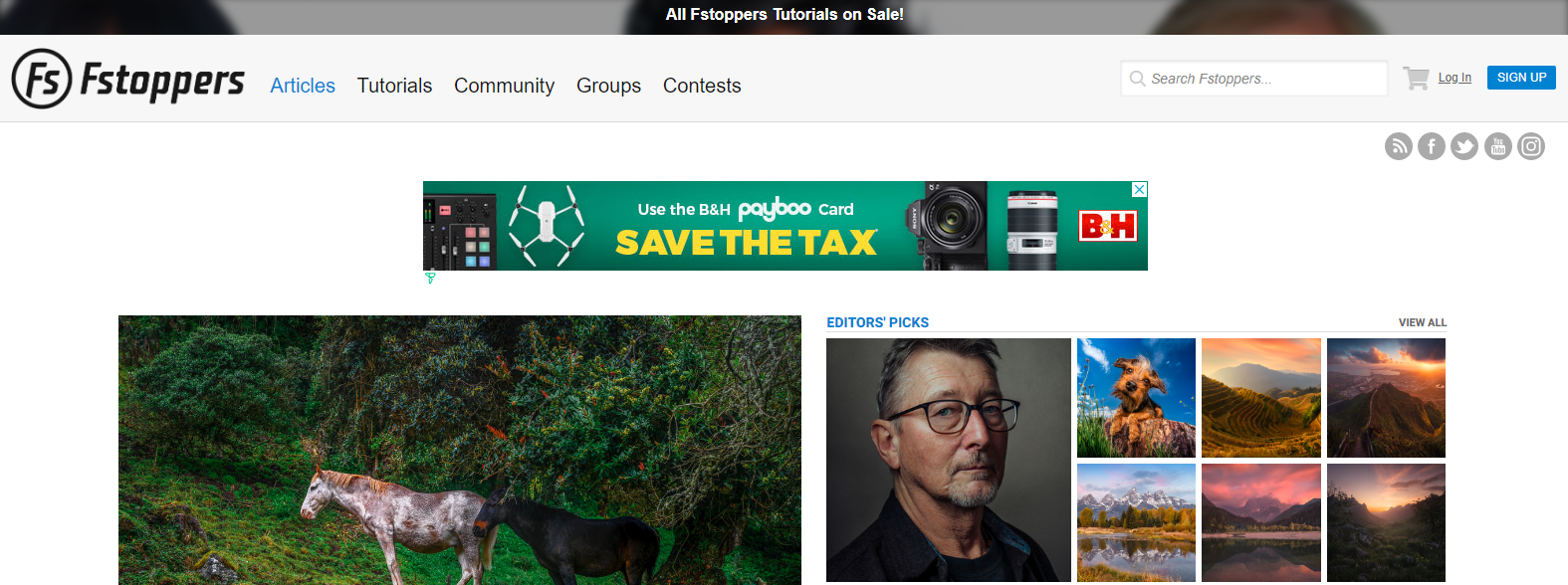 Fstoppers: Photography blog and website