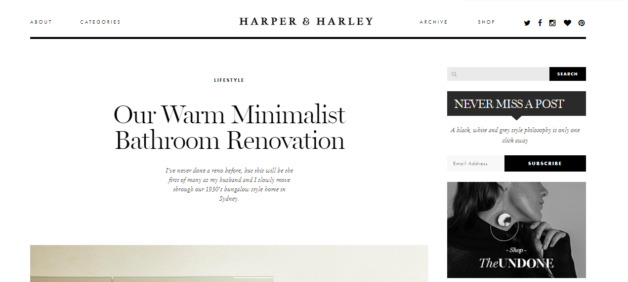 Harper and harley: Style blog and website