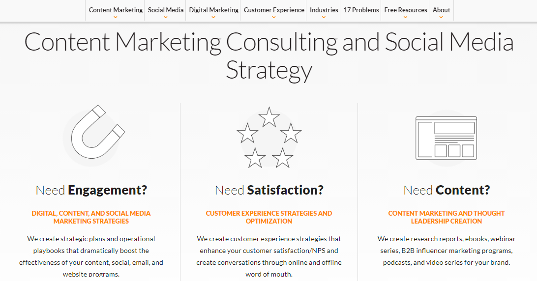 Convince and Convert: Marketing blog and website