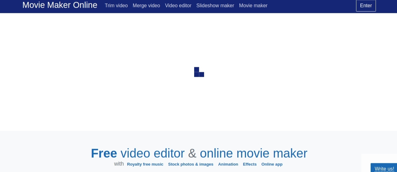 Movie maker online: Video editing blog and website