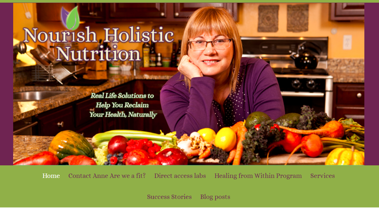 Nourish Holistic Nutrition: Nutrition blog and website