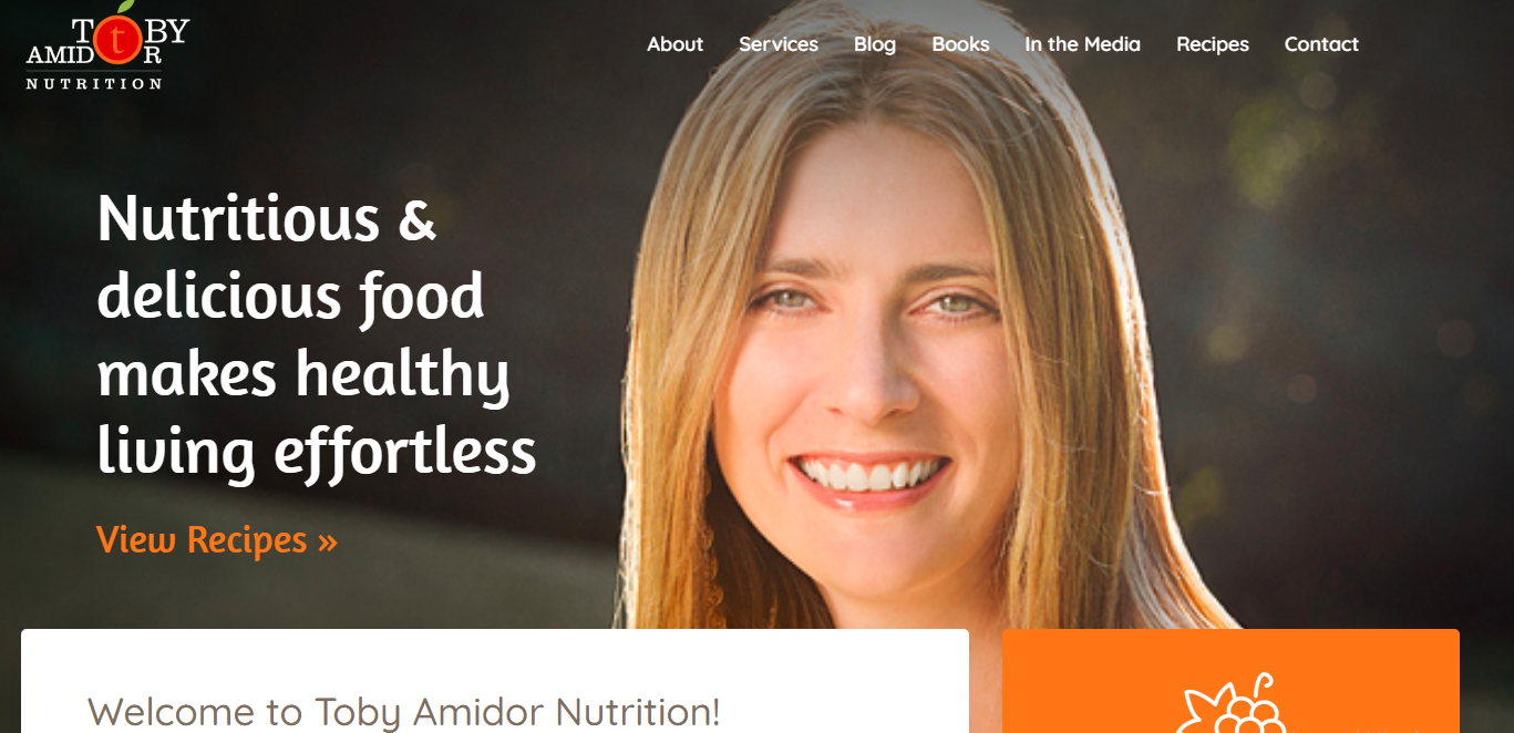 Toby Amidor Nutrition: Health Blog and Website
