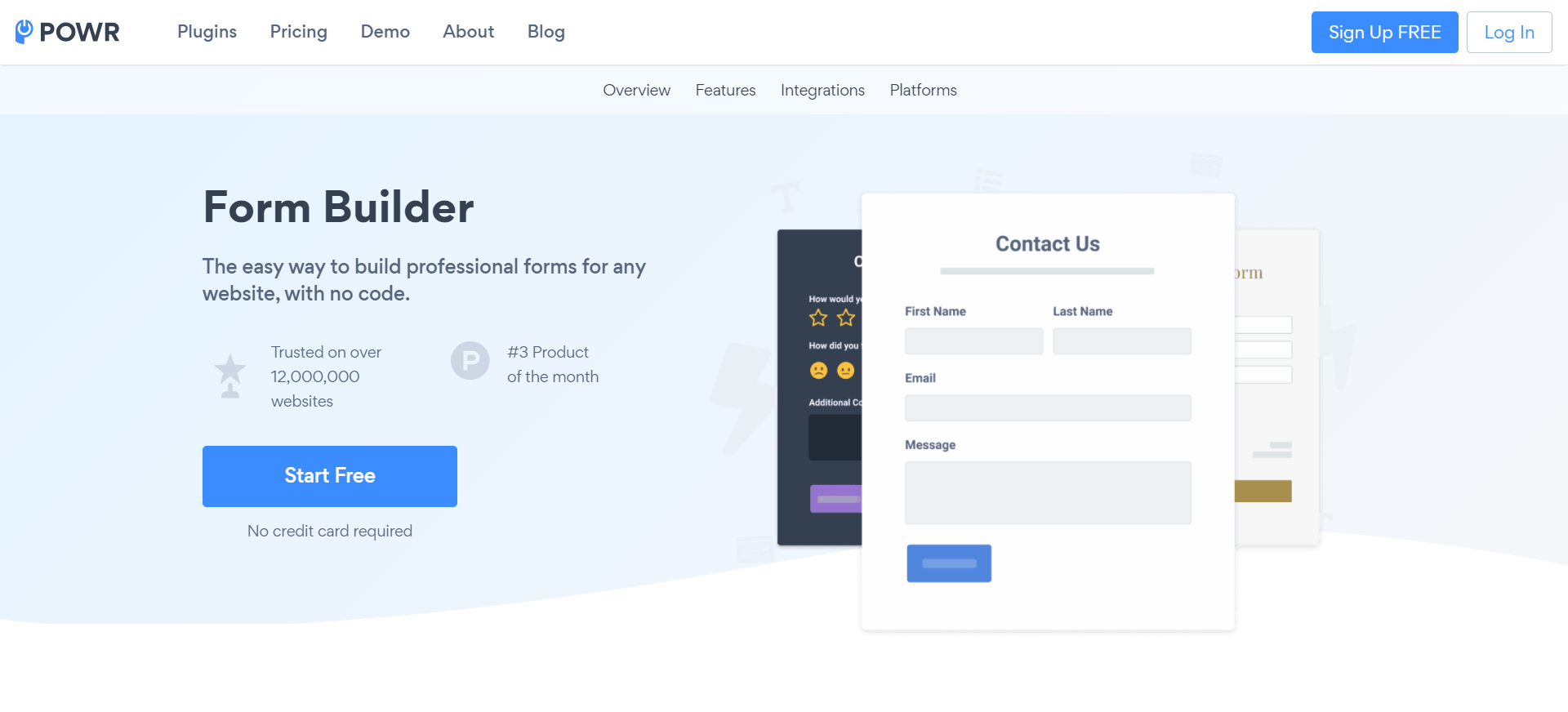 Form Builder & Payments (POWR): Wix App