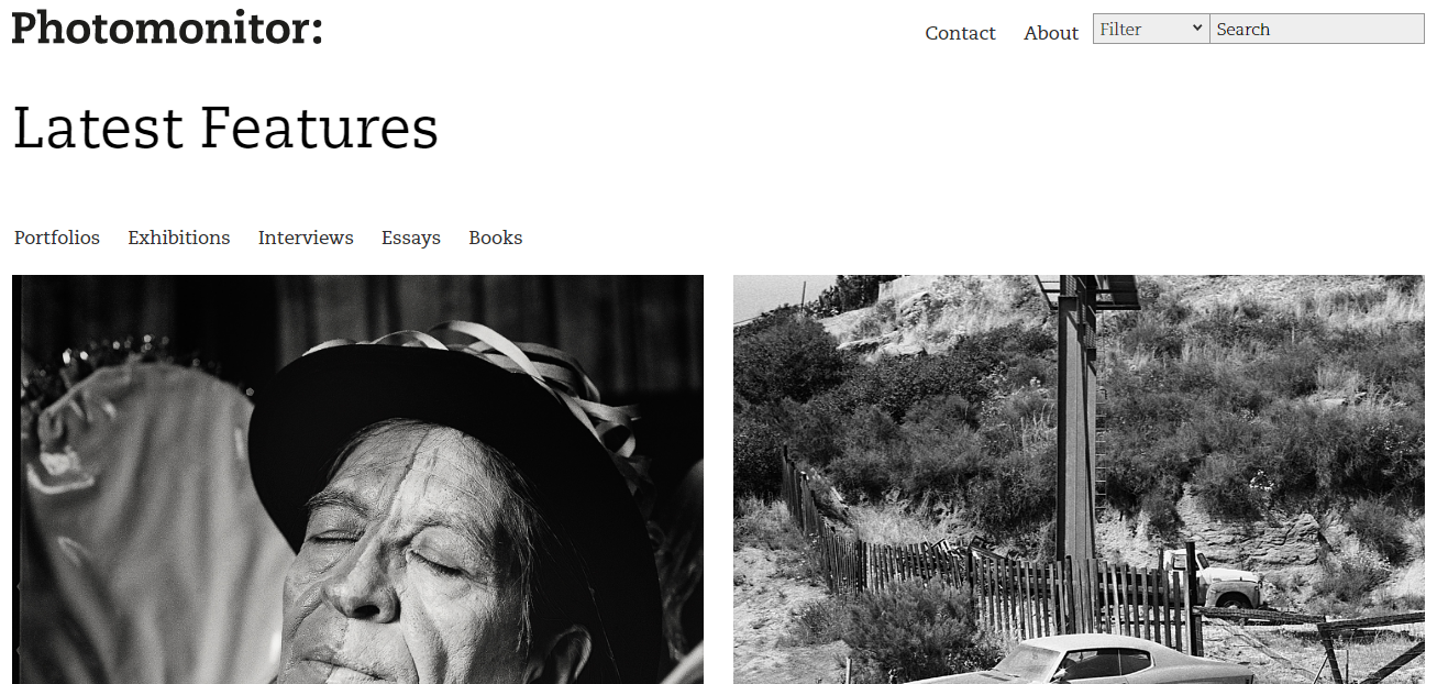 Photomonitor: Photography blog and website