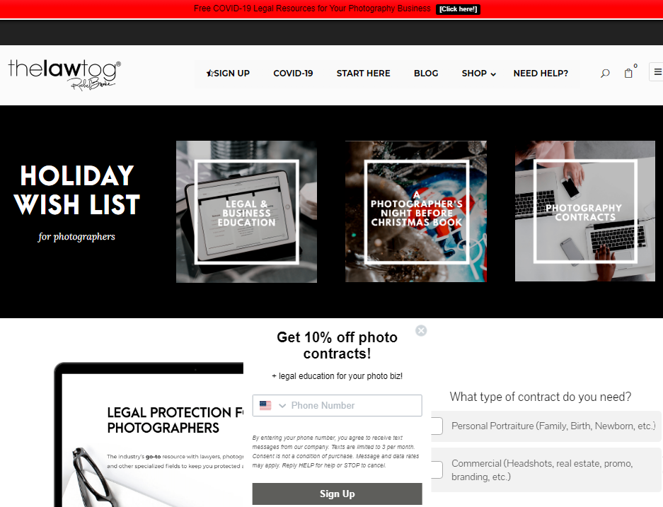 The Lawtag: Photography blog and website
