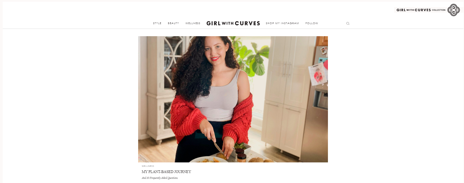 Girl with curves: Style blog and website
