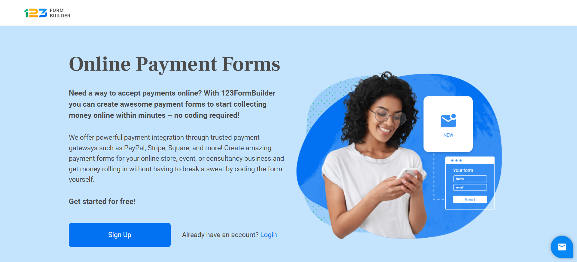 123 Form Builder & Payments: Wix App