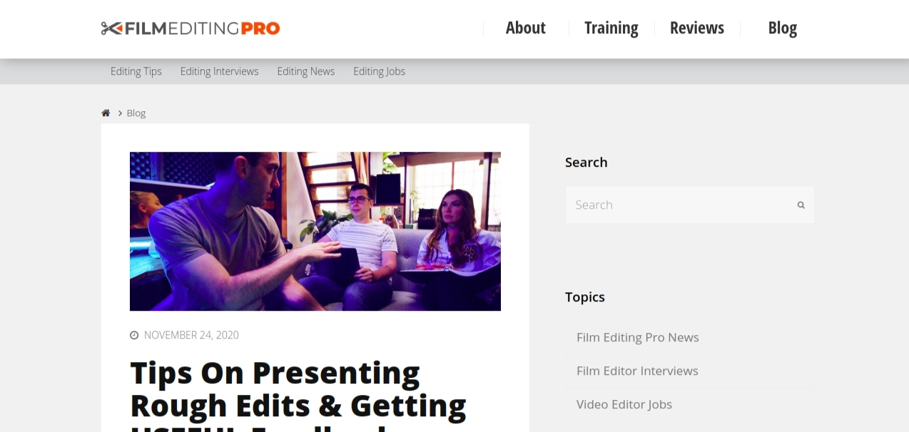 Film editing pro: Video editing blog and website
