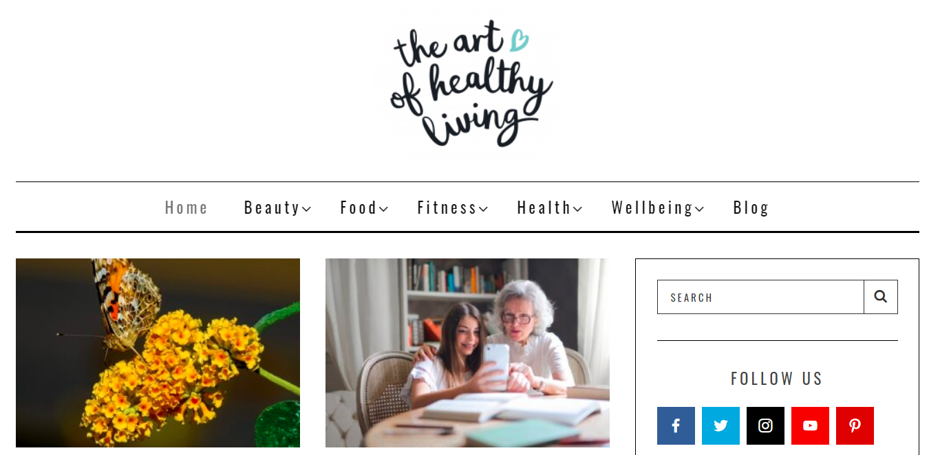 The Art of Healthy Living: Nutrition blog and website