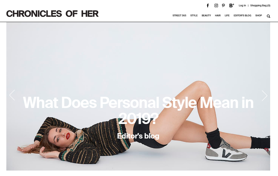 Chronicles of her: Style blog and website
