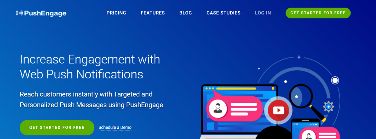 PushEngage: WordPress widget